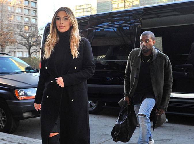 Kim Kardashian et Kanye West à New-York le 25 novembre 2013
