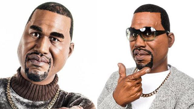 La marionnette de Kanye West
