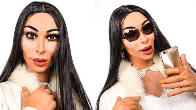 La marionnette de Kim Kardashian