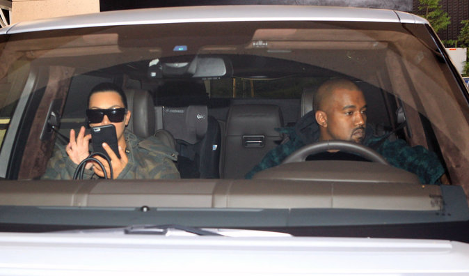 Photos : Kim Kardashian et Kanye West : pour Thanksgiving, il vont au chevet de Lamar Odom