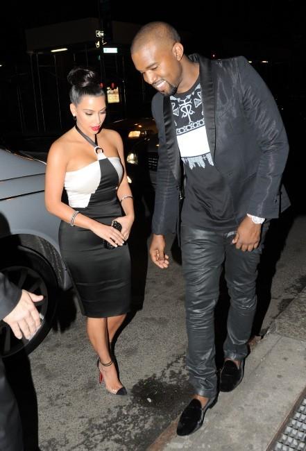 Kim Kardashian et Kanye West inséparables...