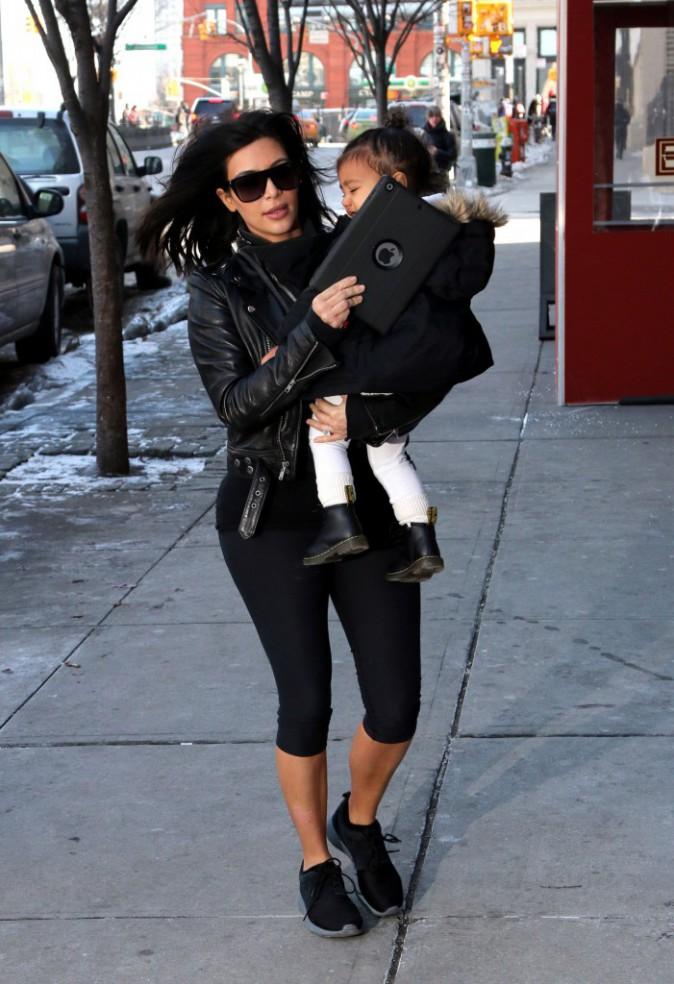 Photos : Kim Kardashian et Kanye West : transformés en loups (et flippants), North toujours pas calmée !
