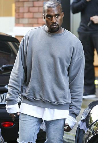Kanye West à Sydney le 13 septembre 2014