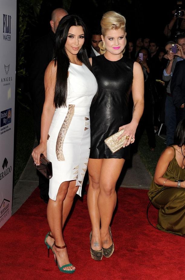 Kim Kardashian et Kelly Osbourne, les contraires s'attirent !