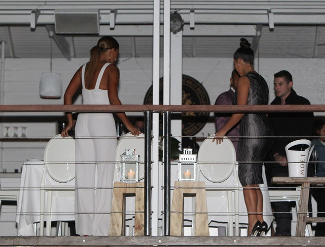 Mel B et Kim Kardashian à Sydney le 19 septembre 2012