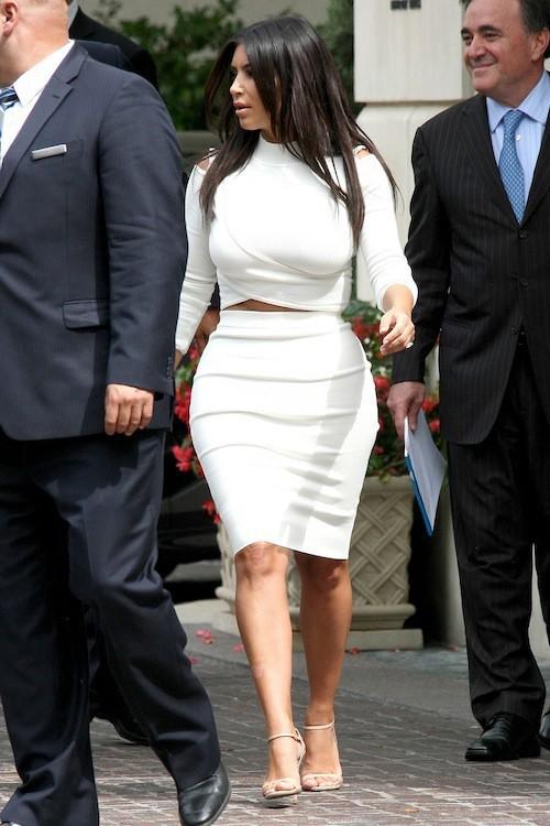 Photos : Kim Kardashian et North West : duo assorti pour un déjeuner mère-fille stylé !