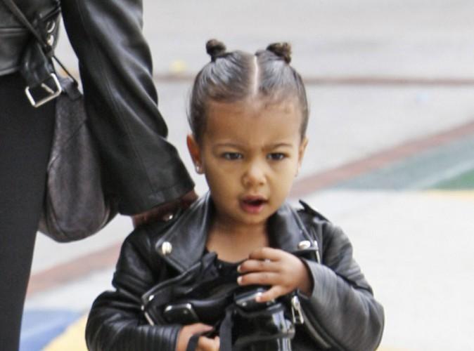 Kim Kardashian et North West, duo rock pour aller danser !