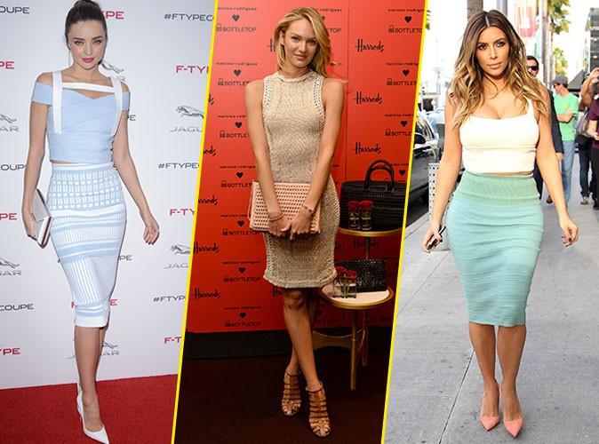 Photos : Kim Kardashian, Eva Mendes, Candice Swanepoel... : elles ont cédé à l'appel du pastel !