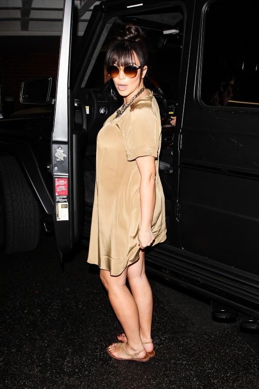 Kim Kardashian, Los Angeles, 23 mars 2013