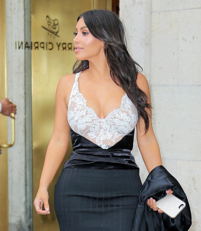 Kim Kardashian en ville