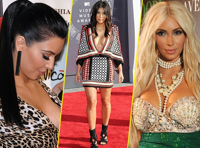 Kim Kardashian f�te ses 34 ans : ses plus beaux (et gros) d�collet�s, c'est cadeau !