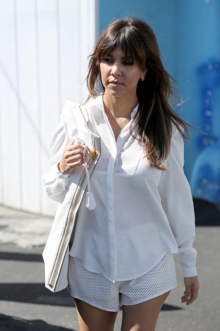 Kourtney Kardashian à Encino, le 30 mai 2013.