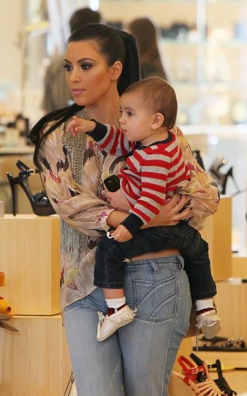 Mason, l'accessoire préféré de Kim ?
