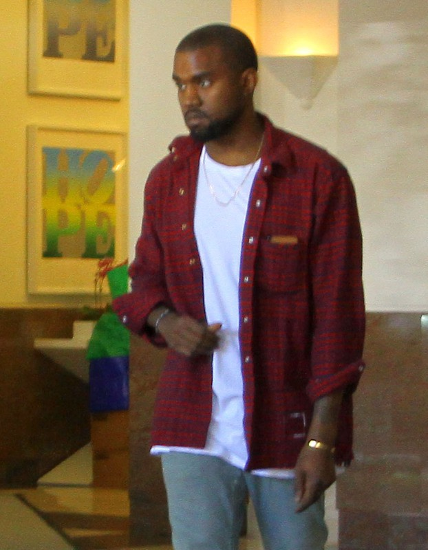 Kanye West à Beverly Hills, le 10 octobre 2013.