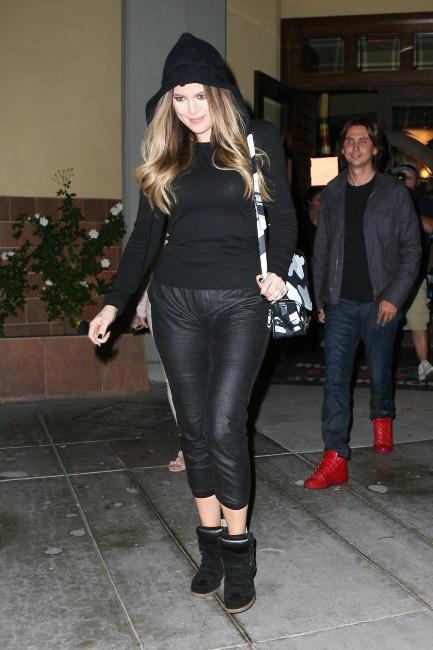 Khloe Kardashian à Beverly Hills, le 10 octobre 2013.
