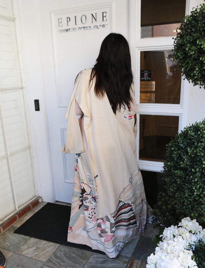 Kim Kardashian à Van Nuys le 27/04/2016