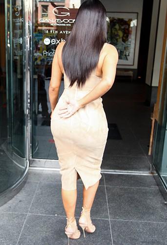 Kim Kardashian à New York le 26 juin 2014