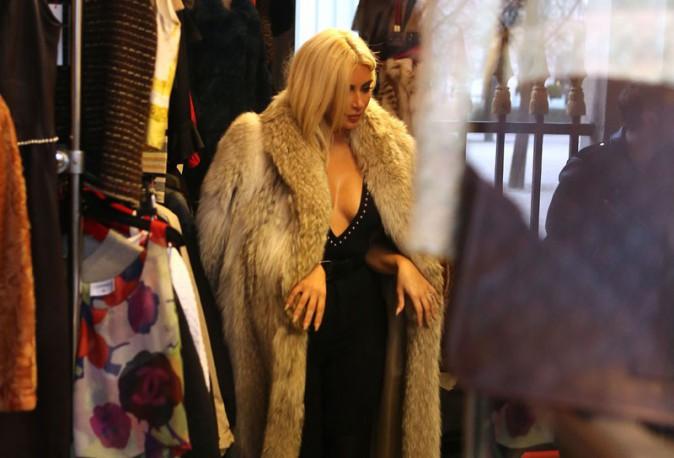 Kim Kardashian à Paris le 10 mars 2015