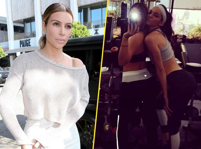 Kim Kardashian : look bien sage après un nouveau booty selfies avec sa petite soeur Kendall !