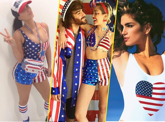 Photos : Kim Kardashian, Miley Cyrus, Cindy Crawford… Les stars célèbrent le 4 juillet !