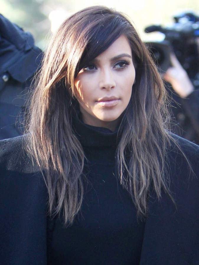 Kim Kardashian en nude