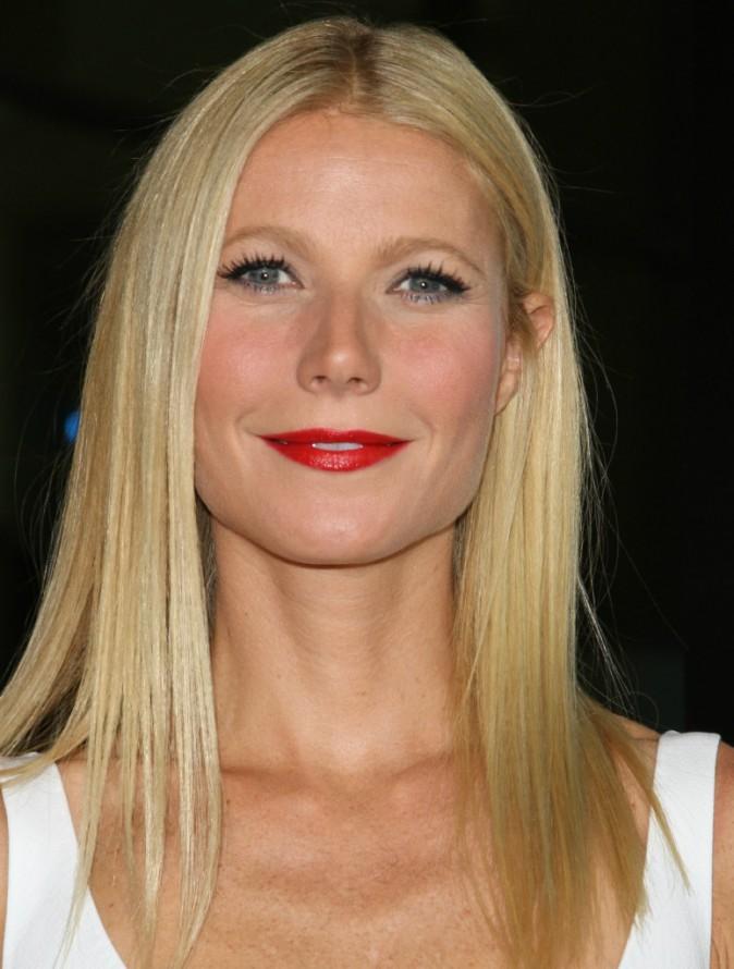 Le rouge sur Gwyneth Paltrow
