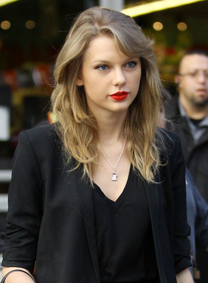 Taylor Swift en rouge