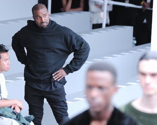 Knaye West au défilé Kanye West x Adidas le 12 février 2015