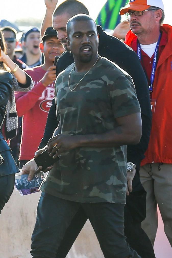 Photos : Kim Kardashian : North la maquille pour le Super Bowl, Kanye West fait le buzz avec ses fans !