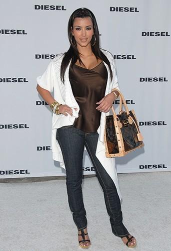 Kim Kardashian, ici en 2007