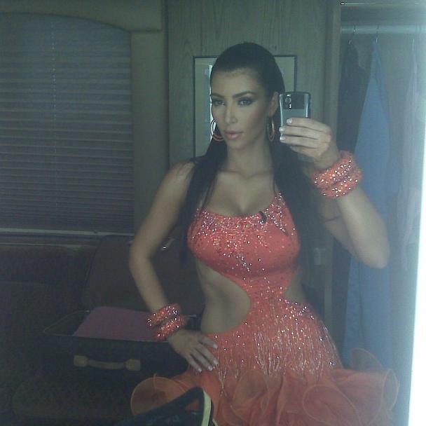 Photos : Kim Kardashian : nostalgique de sa silhouette d'antan !