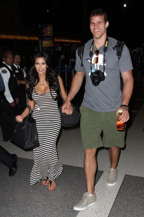 Kim et son géant de chéri !