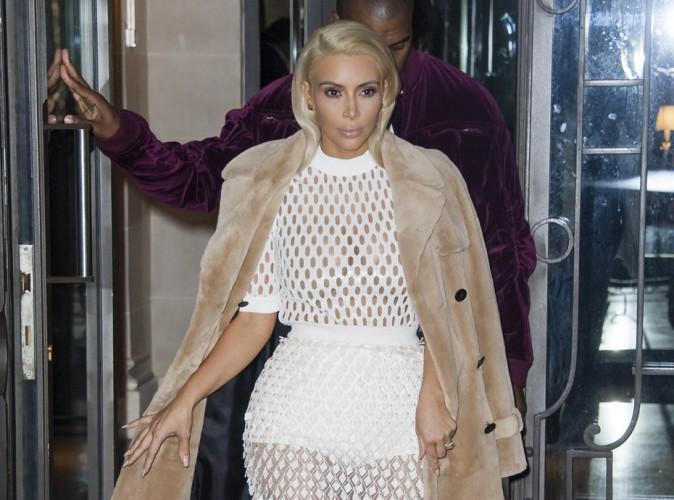 Photos : Kim Kardashian : nouvelle apparition sexy à Paris !