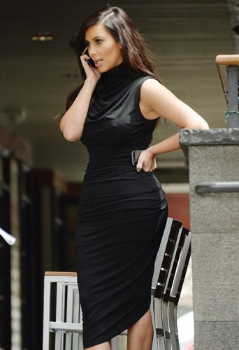 Kim Kardashian à Los Angeles le 17 avril 2014