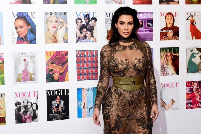 Kim Kardashian ose la transparence... bombe, vous avez dit bombe ?