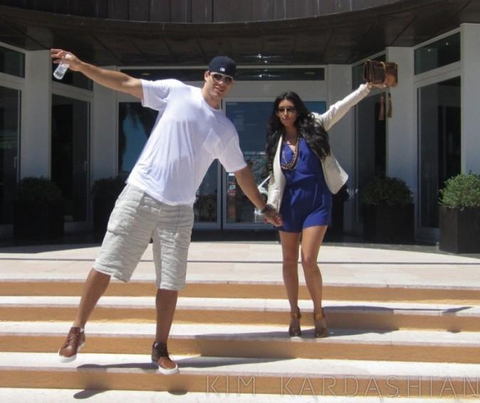 Kris et Kim se sont éclatés à Monaco !