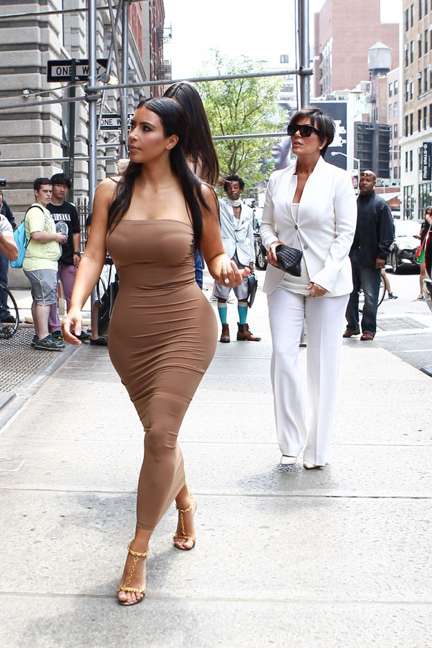 Kim Kardashian à New-York le 27 juin 2014