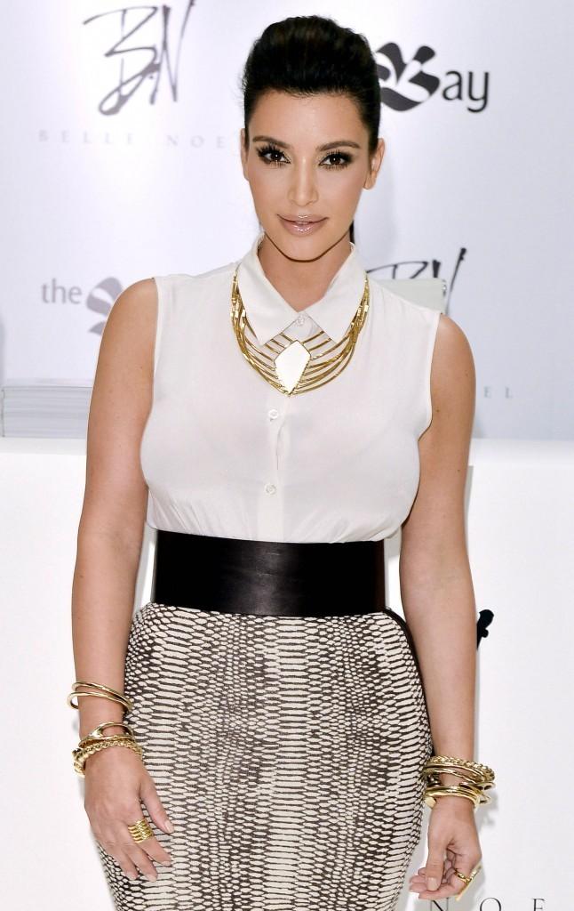 Kim Kardashian le 10 mai 2012 à Toronto