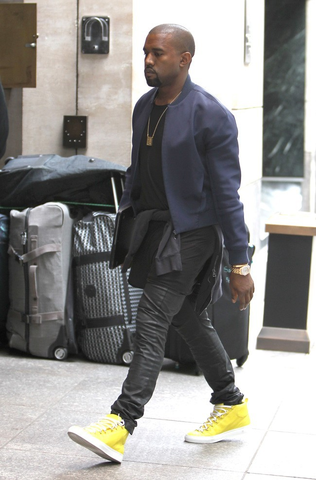 Kanye West le 25 avril 2012 à New York