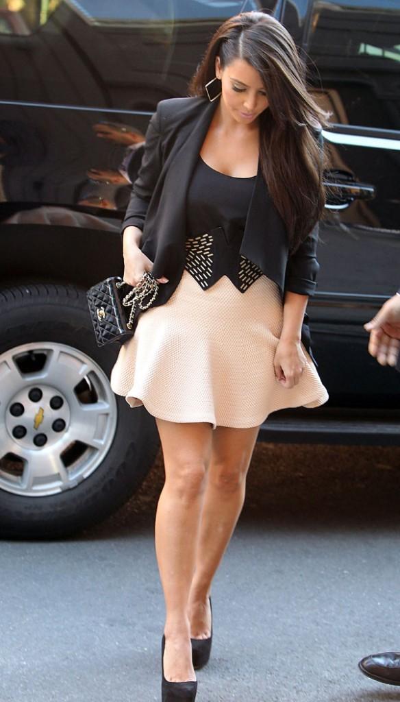 Kim Kardashian le 25 avril 2012 à New York