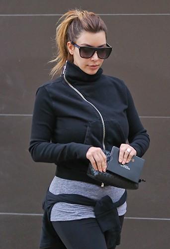 Kim Kardashian à Los Angeles le 15 décembre 2013