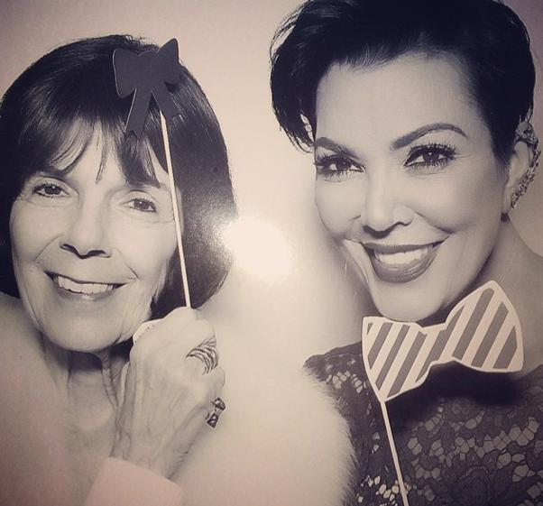 Kris Jenner et sa mère !