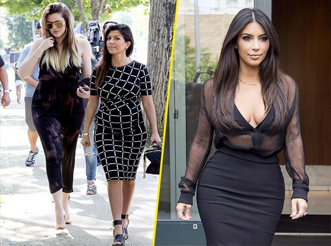 Photos : Kim Kardashian : retrouvailles lookées avec ses soeurs à NYC !
