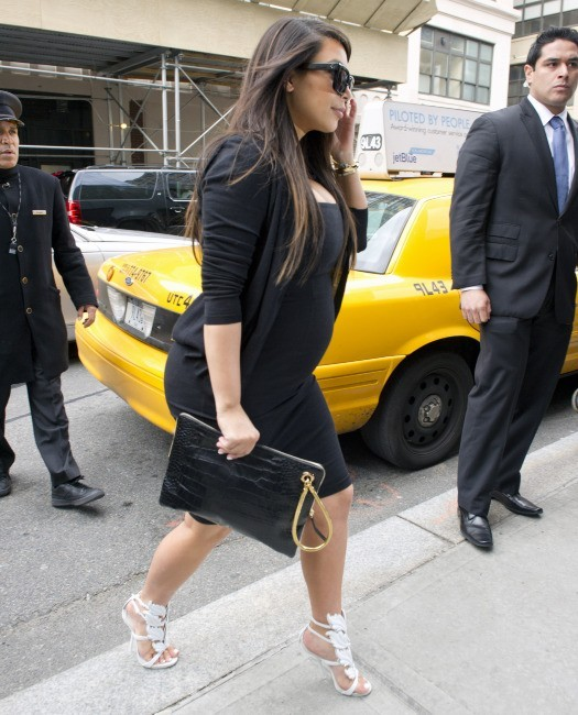 Kim Kardashian à New York, le 22 avril 2013.