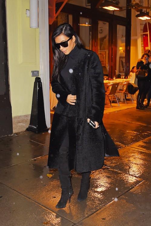 Photos : Kim Kardashian : retrouvailles tendues à New York avec Kanye West !