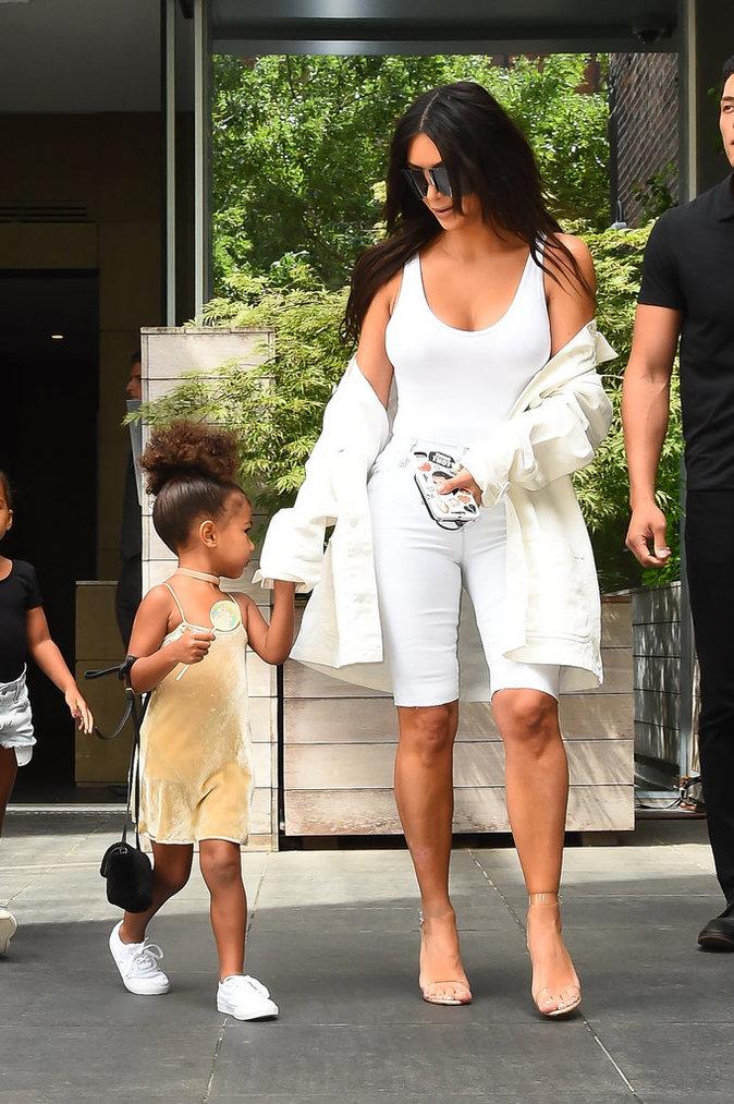 Kim Kardashian à New York le 2 septembre 2016