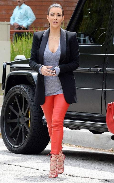 Kim Kardashian à Los Angeles le 25 avril 2014