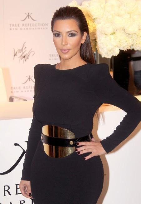 Kim Kardashian en promo à New York, le 6 septembre 2012.