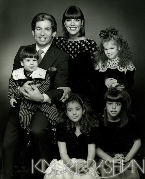La famille Kardashian au complet !