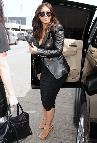 Kim Kardashian à Los Angeles le 11 mars 2014